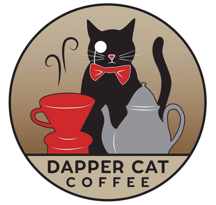 Dapper Cat Coffee logo