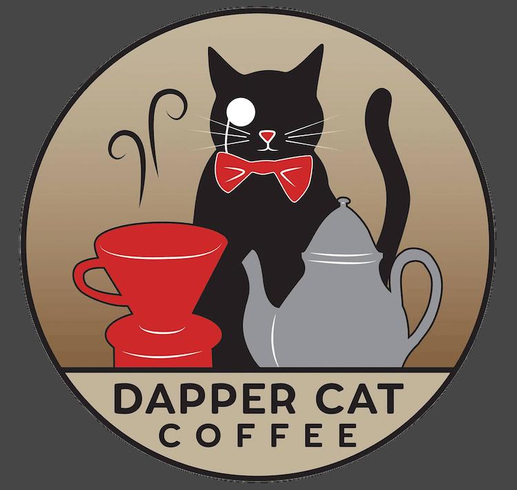 Dapper Cat Coffee logo