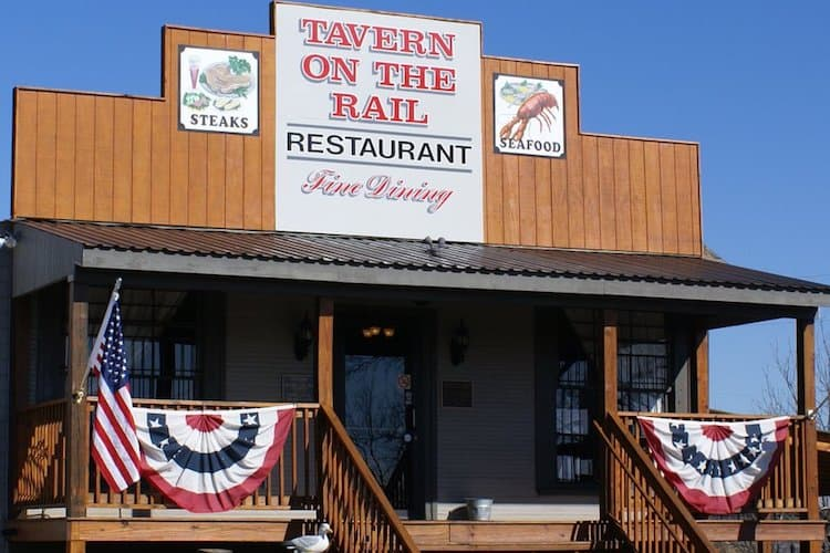 Tavern on the Rail restaurant in Bumpass Virginia