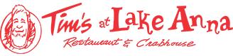 Tim's at Lake Anna Restaurant and Crabhouse logo image